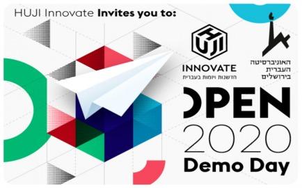 HUJI Innovate Open Day