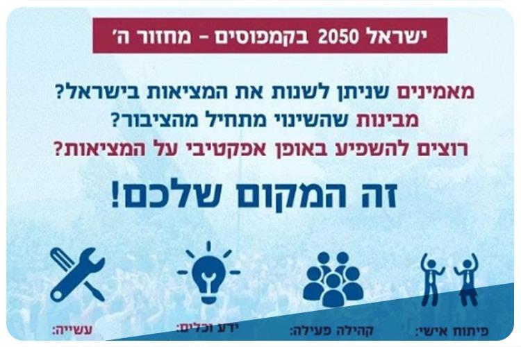 Israel 2050