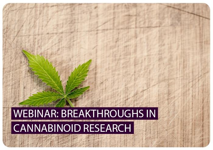 Webinar: Cannabinoid Research